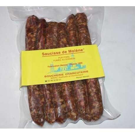 Saucisse de molène X6 format chipolatas 450 gr env