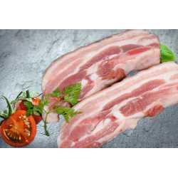 Poitrine porc fraîche