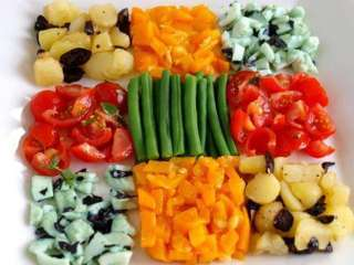 BUFFET DE  CRUDITES